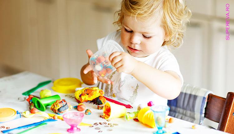 3 Retete simple pentru plastilina colorata – bucuria copiilor