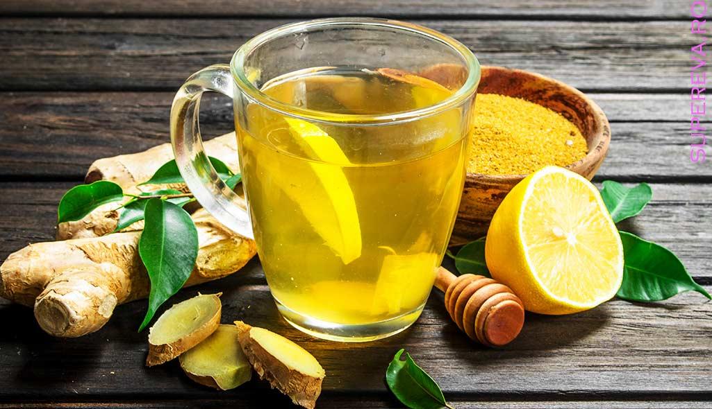 Ceaiul de ghimbir ?i beneficiile sale pentru sanatate